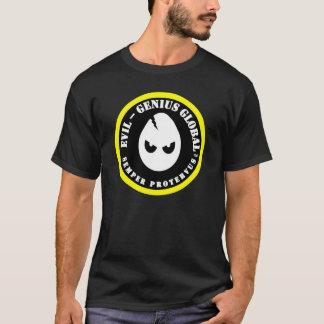 Camiseta T-shirt global do Mau-Gênio