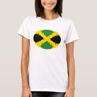 Camiseta T-shirt Gnarly da bandeira de Jamaica