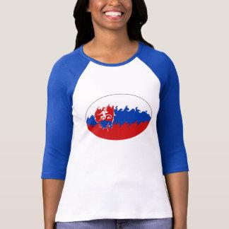 Camiseta T-shirt Gnarly da bandeira de Slovakia