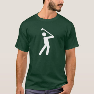 Camiseta T-shirt Golfing do pictograma