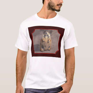 Camiseta T-shirt gordo do esquilo
