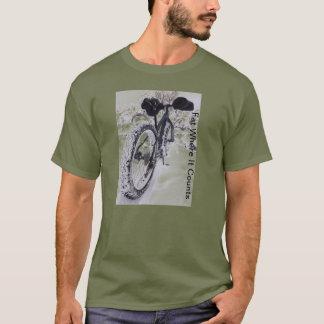 Camiseta T-shirt gordo do Mountain bike da bicicleta