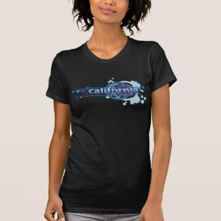 Camiseta T-shirt gráfico azul de Califórnia do círculo
