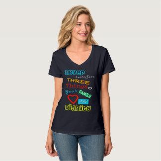 Camiseta T-shirt gráfico da dignidade (nunca sacrifique