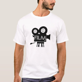 Camiseta T-shirt gráfico do produtor do cinema do T do