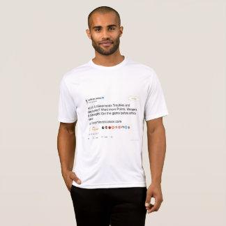 Camiseta T-shirt gráfico do Tweet