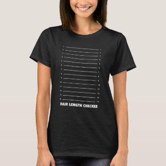Camiseta T-shirt gráfico engraçado do verificador do