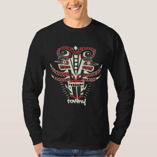Camiseta T-shirt gráfico tribal de Towny