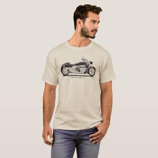 Camiseta T-shirt grande da bicicleta da rua