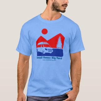 Camiseta T-shirt grande da jarda rv da casa pequena