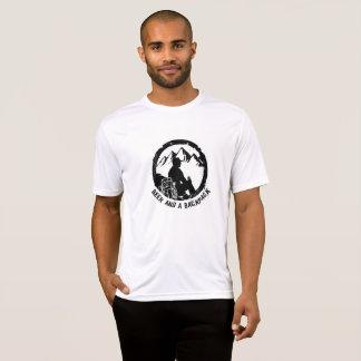 Camiseta T-shirt grande do logotipo de BeerAndaBackpack