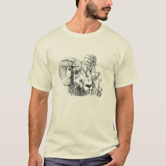Camiseta T-shirt grande dos carneiros do chifre