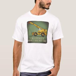 Camiseta T-shirt grande dos homens das citações do operador