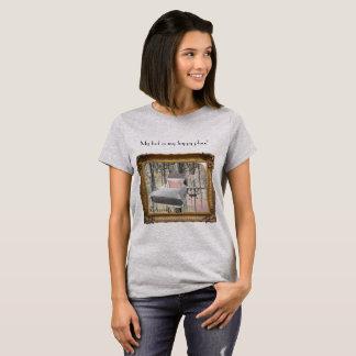 Camiseta T-shirt grande ideal para mulheres