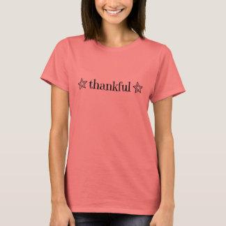 """Camiseta T-shirt """"grato"""" da estrela"""