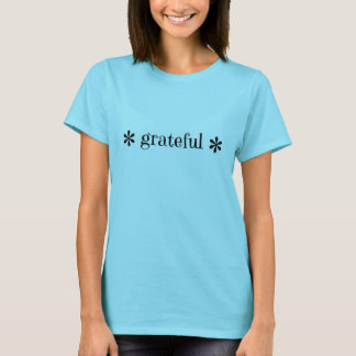 """Camiseta T-shirt """"grato"""" da flor"""