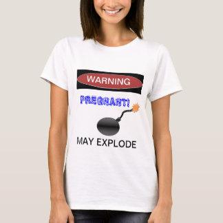 Camiseta T-shirt grávido engraçado