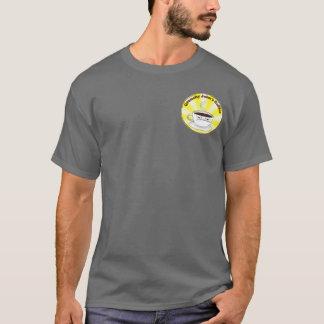 Camiseta T-shirt Grouchy do logotipo do Sunburst de Johns