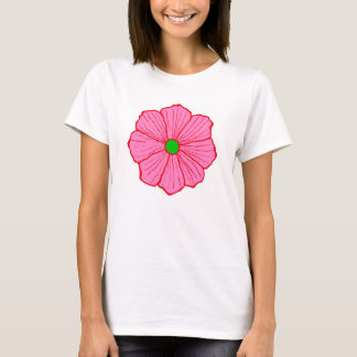Camiseta T-shirt havaiano da flor