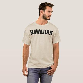 Camiseta T-shirt HAVAIANO da letra do estilo da faculdade
