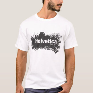Camiseta T-shirt Helvética