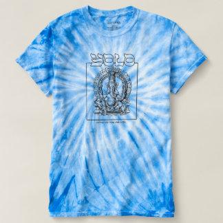 Camiseta T-shirt Hindu irónico da Laço-Tintura do ciclone