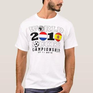 Camiseta T-shirt holandês 1 da espanha dos finais do
