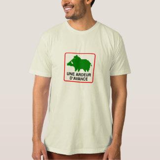 Camiseta T-Shirt Homem BIOLÓGICO - um ARDOR de ADIANTAMENTO