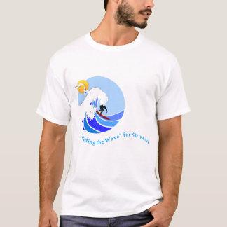 Camiseta T-shirt (homens): Básico, onda de MLML 50th