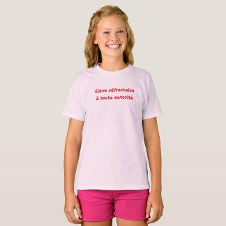 Camiseta t-shirt humor escolar