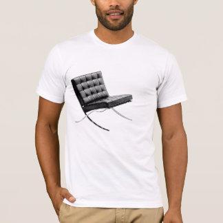 Camiseta T-shirt icónico dos objetos - cadeira de Barcelona