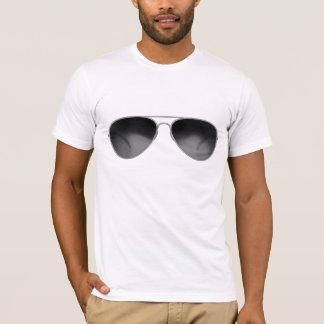 Camiseta T-shirt icónico dos objetos - máscaras do aviador