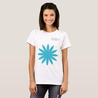Camiseta T-shirt ideal da flor vivendo uma vida fenomenal