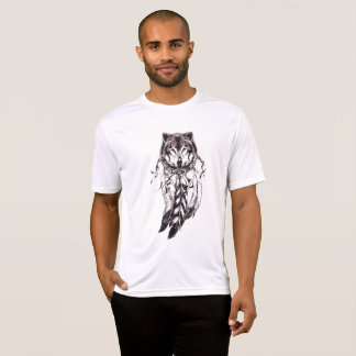 Camiseta t-shirt ideal do lobo do coletor dos yuyass