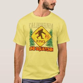 Camiseta T-shirt ido novo do estilo de Squatchin Califórnia