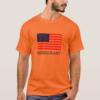 Camiseta T-shirt imigrante americano