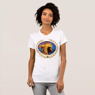 Camiseta T-shirt imperial do pescoço de grupo da imperatriz