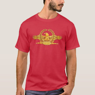 Camiseta T-shirt imperial romano do gráfico de Eagle
