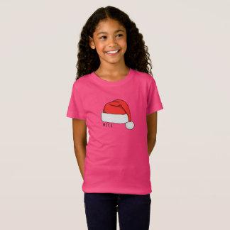 Camiseta T-shirt impertinente ou agradável das meninas -