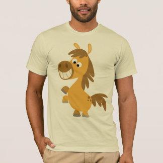 Camiseta T-shirt impetuoso do pônei dos desenhos animados