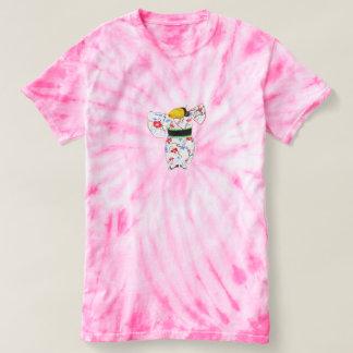 Camiseta T-shirt importante da tintura do laço do ciclone