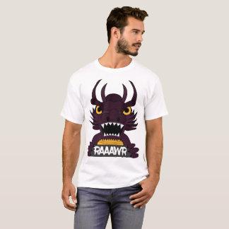 Camiseta T-shirt + Impressão do dragão