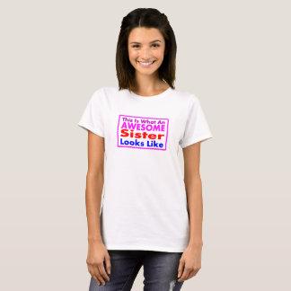 Camiseta T-shirt impressionante da IRMÃ