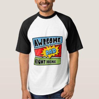 Camiseta T-shirt impressionante do pai