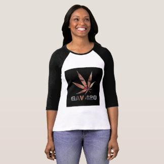 Camiseta T-shirt impresso logotipo da deusa de GAV pelo