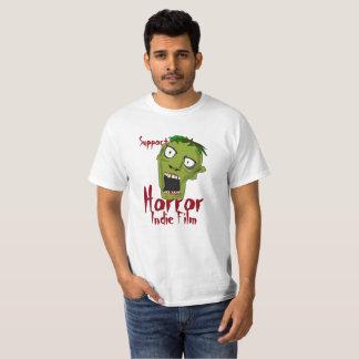 Camiseta T-shirt Indie do orçamento do filme do horror do