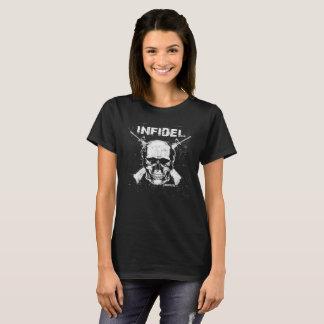 Camiseta T-shirt infiel do crânio