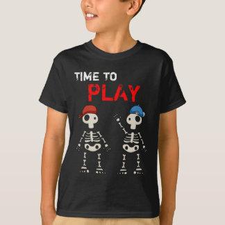 Camiseta T-shirt inoperante do divertimento dos miúdos