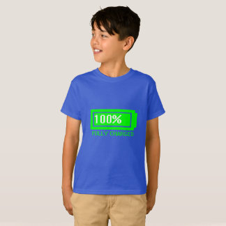 Camiseta T-shirt inteiramente carregado