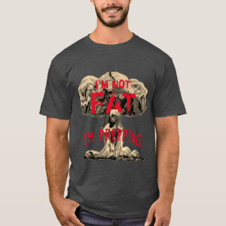 Camiseta T-shirt inteligente do prepper (escuro)